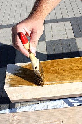 fachgerechte Behandlung des Holzes