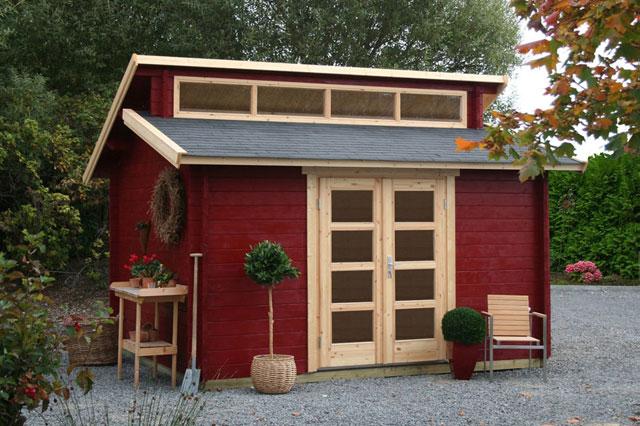 Gartenhaus Mit Schuppen YV96 – Hitoiro