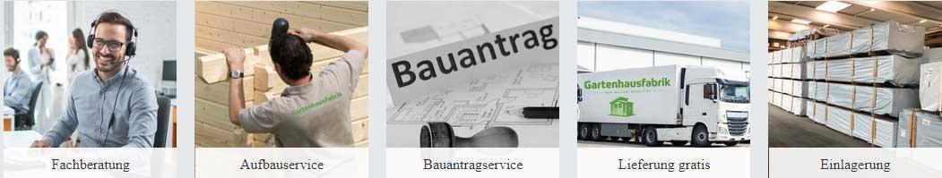 Services Gartenhausfabrik